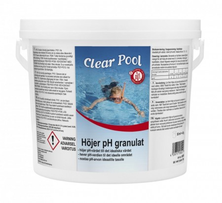 Clear pool pH pluss 3kg